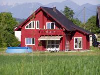 Blockhaus  als  Bausatzlieferung  2009